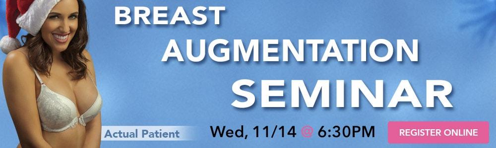 11/14 Breast Augmentation Seminar